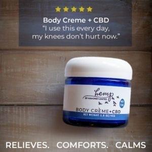 body cream ad