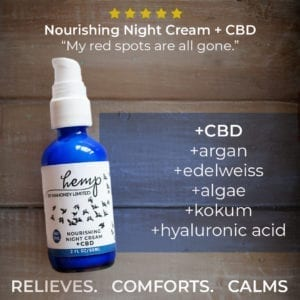 night cream ad